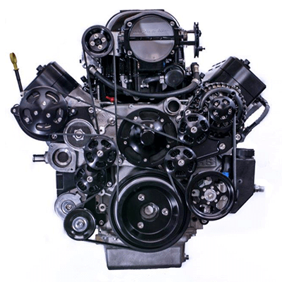 416LS3WH2.9-CE SUPERCHARGED 416 LS3 WHIPPLE 2.9L 900 HP COMPLETE ENGINE PACKAGE FRONT