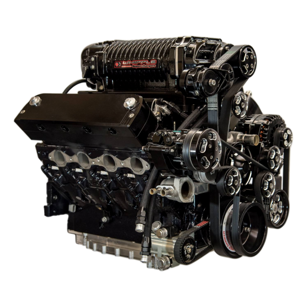 416LS3WH4.0-CE SUPERCHARGED 416 LS3 WHIPPLE 4.0L 1,000 HP COMPLETE ENGINE PACKAGE