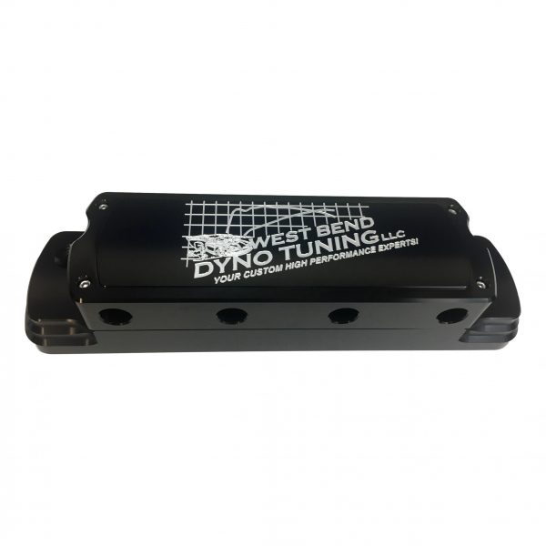 West Bend Dyno Billet Valve Cover Tall Stepped with hidden coils