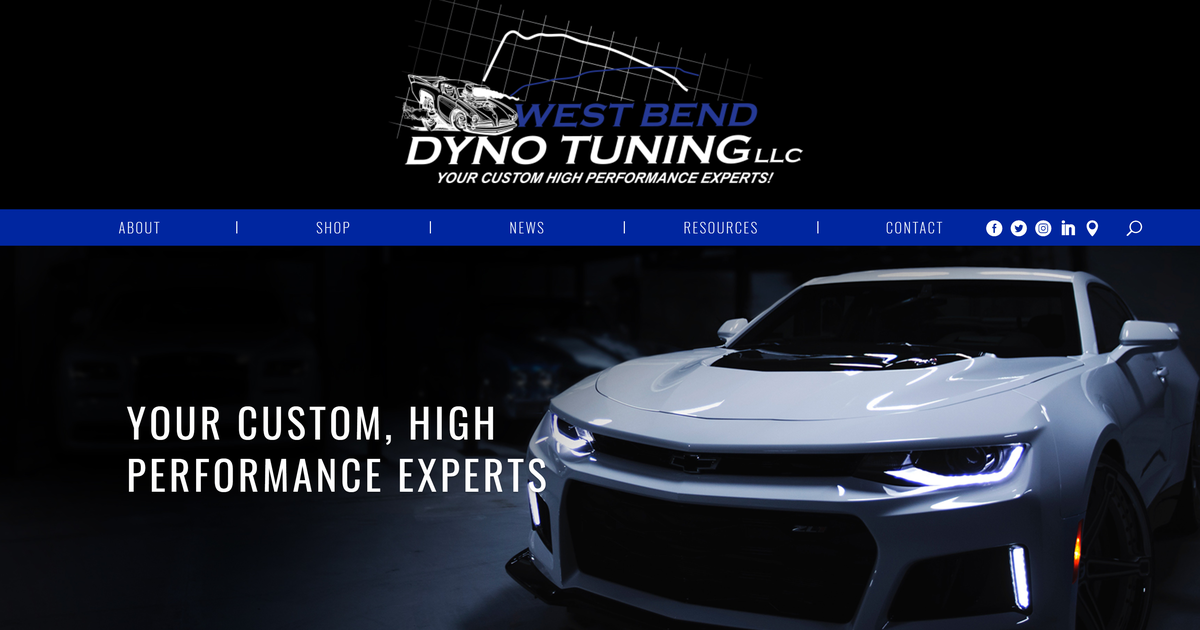 Home | West Bend Dyno Tuning | Your Custom High Performance Experts